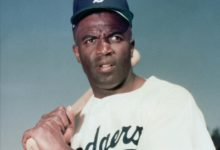 Jackie Roosevelt Robinson-The First Black Man to play Major League Baseball