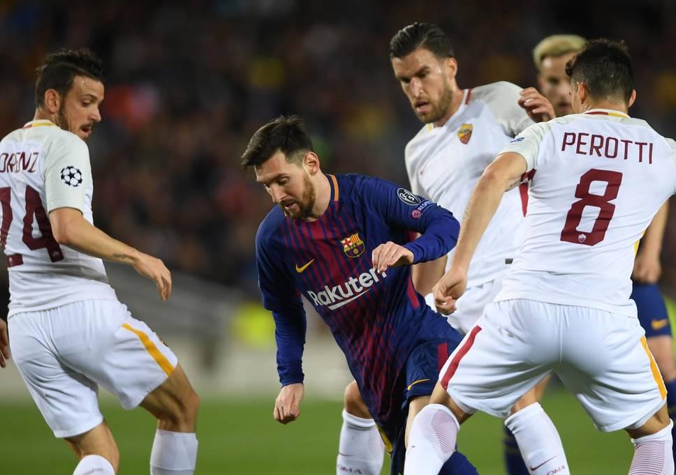 Roma vs Barca