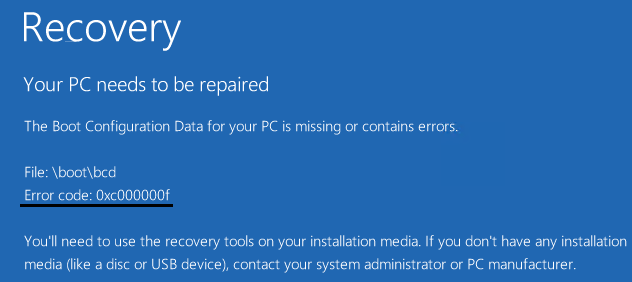 Solutions To Windows Bootloader Problems