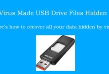 How to unhide & recover hidden files on your memory card & USB drive