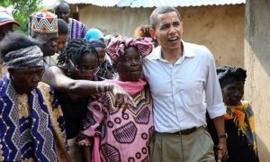 Barrack Obama Visits And Dances With His Grandmother On Kenya Trip