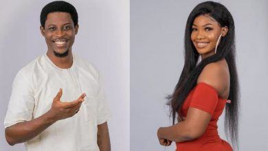 Seyi and Tacha of BBNaija